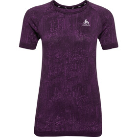Odlo Blackcomb Pro Crew Neck T-shirt Dames, charisma melange